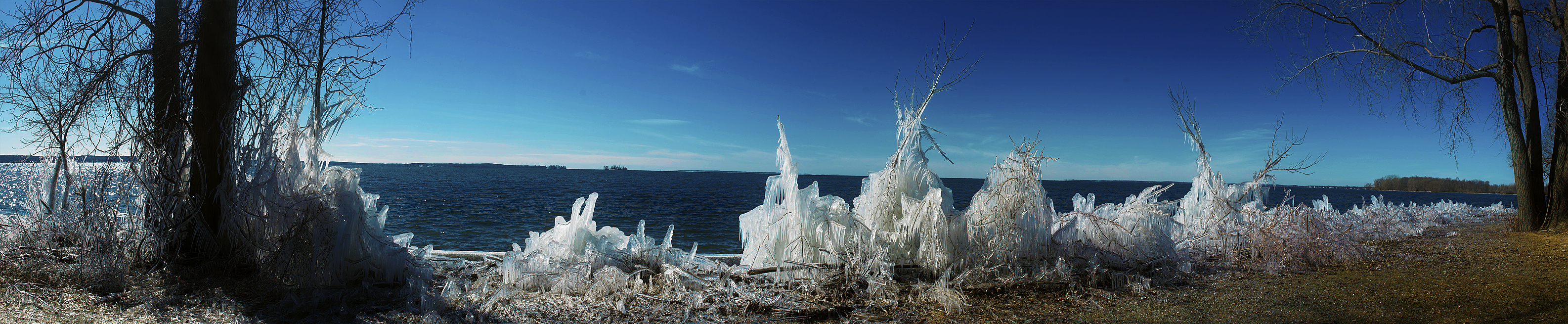 Ice Formation Panorama