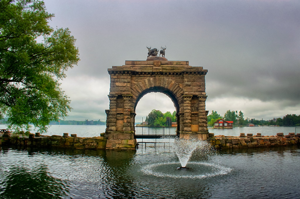 The Entry Arch at Boldt Castle