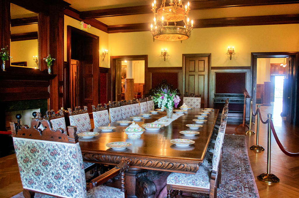 DIning Room inside Boldt Castle