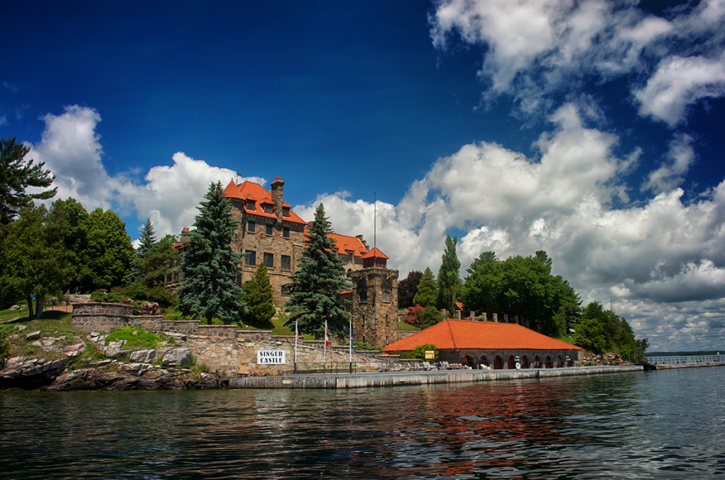 Singer Castle on Dark Island in the Thousand Islands