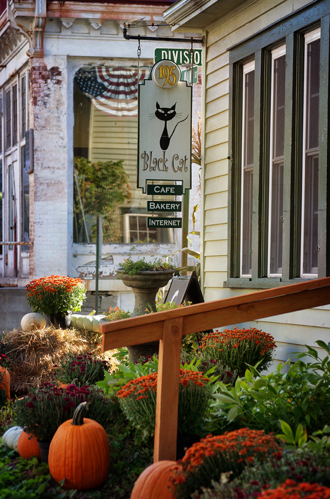 The Black Cat Bakery in Sharon Springs, NY