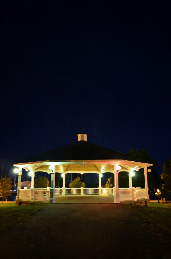 Gazebo in Sackets Harbor