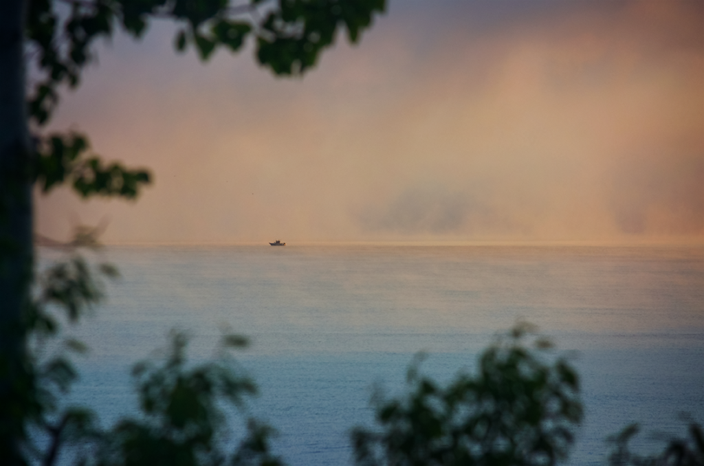 Fog in Sackets Harbor Photo by Andrea Parisi